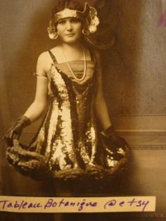 Real Photo Postcard  Gatsby Era Flapper Girl   by TableauBotanique, $14.00
