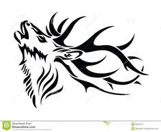 Image result for deer tribal tattoos