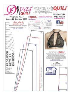 Underwear Pattern, Lingerie Patterns, Sewing Lingerie, Jolie Lingerie, Clothing Patterns, Sewing Pants, Sewing Clothes, Diy Clothes, Bralette Pattern