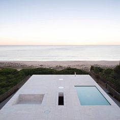 "House by Alberto Campo Baeza designed as ""a jetty facing out to sea"""