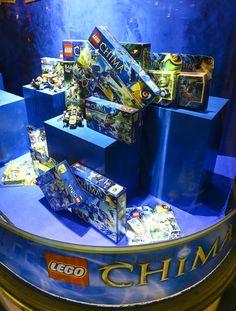 Hamleys Regent Street window display: LEGO Chima and LEGO Friends December 2012  #Lego #Chima #friends