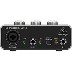 BEHRINGER U-PHORIA UM2 This is ranked high among the best selling products in Musical Instruments category in USA. Click below to see its Availability and Price in YOUR country.