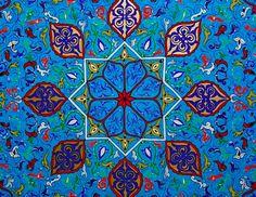 Moroccan tiles...