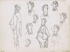 Character Sheet by Milt Kahl