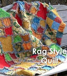 Rag Style quilts
