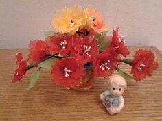 How To Make Nylon Flowers 08 (Tulips) blisswonders.com - YouTube