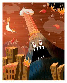 Volcano [by Chris Leavens]