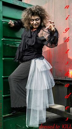 Zombie grey tulle tiered MEGA bustle, gothic, ZOMBIE, FAIRY on Etsy, $59.57