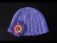 Летняя шапочка для девочки крючком — подборка схем и идей | Вязание Шапок Спицами и Крючком