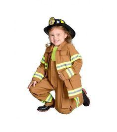 Jr. Fire Fighter Suit Costume