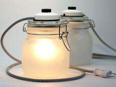 WeckLicht Lampe von westpakete via dawanda.com