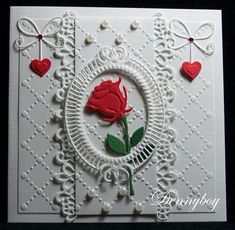Wedding Scrapbook Pages, Scrapbook Cards, Wedding Cards Handmade, Greeting Cards Handmade, Wedding Messages, Valentine Love Cards, Marianne Design, Cute Images, Cardmaking