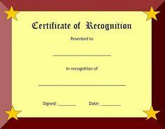 26 best award certificate template images award certificates rh pinterest com