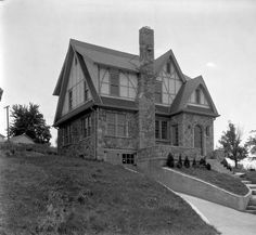 House at 2132 Lakeside Drive, Louisville, Kentucky, 1927. :: Caufield & Shook Collection