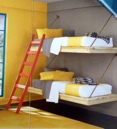 Wall mounted bunks