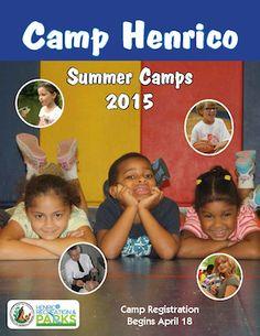 Adventurers wanted for Henrico Summer Camps! Registration begins April 18.