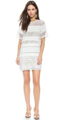 endless rose Lace Shift Dress | SHOPBOP SAVE 25% use Code:SPRING25