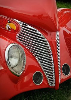 1939 Ford Grill and Headlight by William Horton Photography, via Flickr