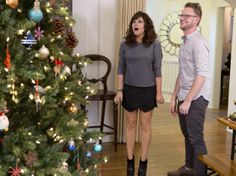 Actress #TiffaniThiessen Gets a Holiday Home Makeover From HGTV >> http://www.frontdoor.com/photos/see-tiffani-thiessens-home-for-the-holidays?soc=pinterest