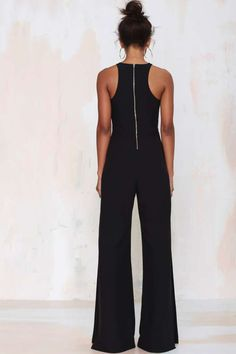 Nasty Gal Side View Palazzo Jumpsuit - Sale: 60% Off and Up | Rompers + Jumpsuits