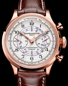 CAPELAND FLYBACK CHRONOGRAPH, Baume et Mercier Timepieces and Luxury Watches on Presentwatch