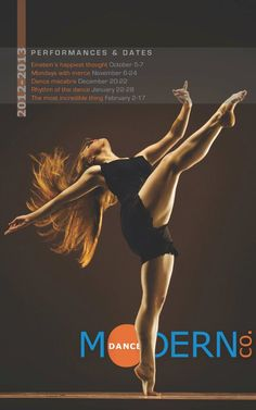 Modern Dance Poster  Photography is given