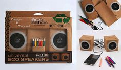 Eco personalized speakers !