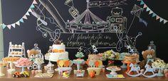 13 ideias para usar lousa na decoração de festas infantis