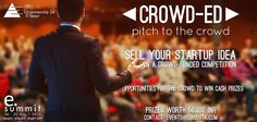 Ever thought of winning while just being in the Crowd. eSummit 2015 brings you the chance to invest virtual money and earn back REAL Money in turn. Presenting our fifth competition Crowd-Ed - for all those people who say they have an idea but never really got to pitch it.  www.ecelliitk.com/crowd-ed  #eSummit