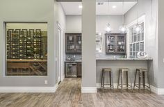 Traditional Bar with Hardwood floors & Columns in Paradise Valley, AZ   Zillow Digs