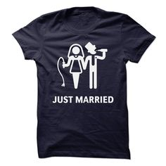 Just Married (Whip and ⑧ Beer)Cool fun-shirt-design including fun guarantee for the ultimate game-over-wedding party! Also perfect as a gift for your friends most beautiful day of life!Game Over, Bachelor, Bachelorette, Bride And Groom, Hen Night, Housewife, Husband, Brautpaar, Heirat, Hochzeit
