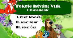 Fekete István: Vuk olvasmánynapló interaktív tananyag
