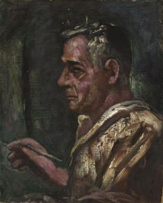 Carlo Carrà - Self Portrait, 1933