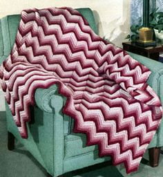 Chevron Afghan Pattern