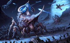 Fantasy Art Sci-Fi Monstruos