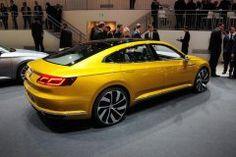 Спортивная классика от Volkswagen: Passat CC 2017