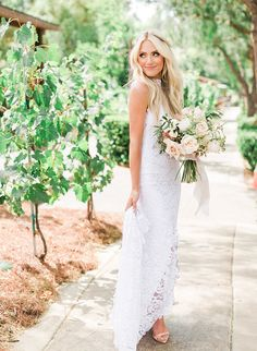 Savannah and Cole LaBrant's Stunning Blush Wedding - Inspired By This