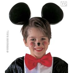 Maxi Mouse Ears Accessory For Animal Creature Mickey Danger Mighty Fancy  Dress ebay Fashion