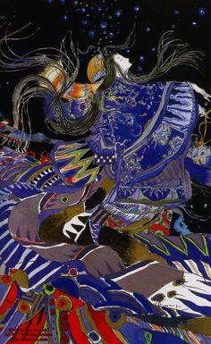 Yoshitaka Amano has released an abridged edition of The Tale of Genji by Murasaki Shikibu with his own artworks.