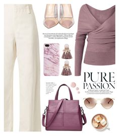 """Sin título #1299"" by yexyka ❤ liked on Polyvore featuring The Row, Semilla and Topshop"