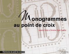 Monogrammes au point de croix - cross stitch monograms