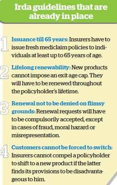 How new health insurance norms can benefit you - Economic Times