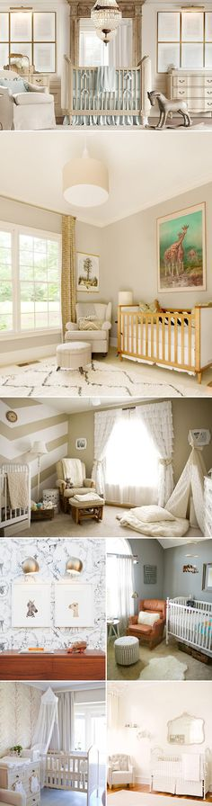 Expecting a bundle of joy? Turn your excitement into an amazing interior design project, and express your love through creativity!  We have more nursery room ideas for you today.  If you desire a clean, uncluttered nursery space with playful personal accents, don't miss these wonderful ideas below.   Fresh & adorable Credits (from top left): …