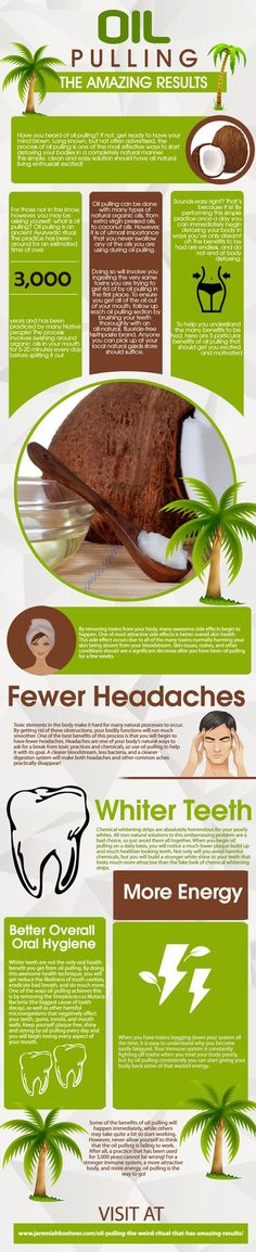 Oil Pulling Benefits [Infographics] | ecogreenlove