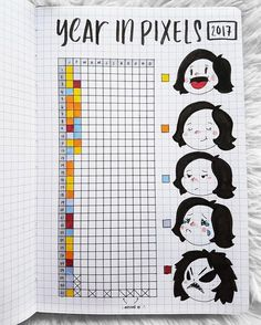 """5,233 Likes, 147 Comments - Passion Planner (@passionplanner) on Instagram: """"#Plannerhack! - Use the back pages in your Passion Planner to create a year in pixels for 2017! ✨…"""""""