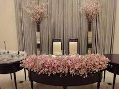 高砂 桜 装花 - Google 検索 Wedding Flowers, Wedding Decorations, Tropical, Ceiling Lights, Curtains, Spring, Home Decor, Google, Wedding