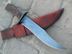 Neo-Gothic Frontier Bowie by Dervish Knives (http://www.dervishknives.com) (John…