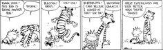 Calvin and Hobbes Comic Strip on GoComics.com Yummy Bugs. . . .Protein is good for the soul