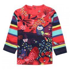 Tee-shirt imprimé Corail fluo Catimini