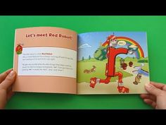 Letterland Story Corner - Red Robot and the recycling - YouTube Little Learners, Homeschooling, Robot, Alphabet, Recycling, Corner, Lettering, Youtube, Red